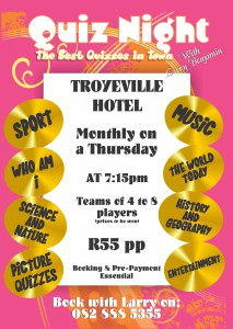 Troyeville  poster 20153