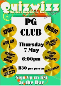 wits pg club poster
